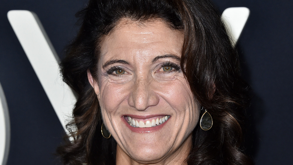 Amy Aquino smiling