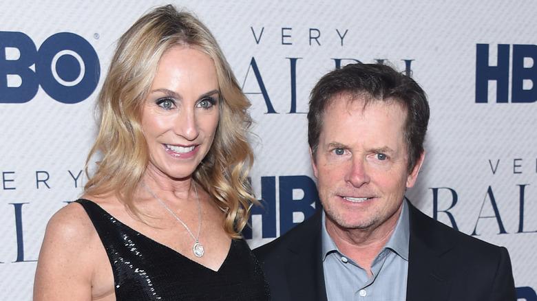 Michael J. Fox Tracy Pollan
