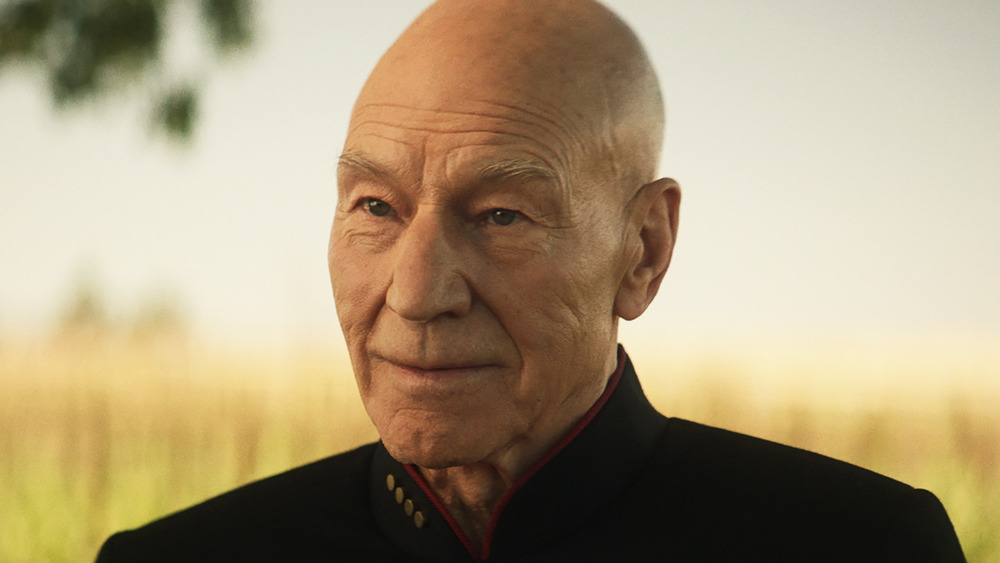 Captain Picard smiling