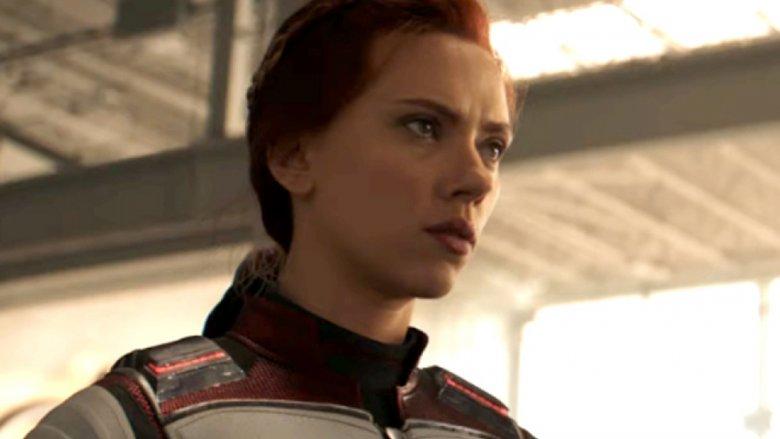 Scarlett Johansson Black Widow Avengers Endgame