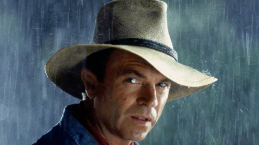 Sam Neill as Dr. Alan Grant in Jurassic Park 3