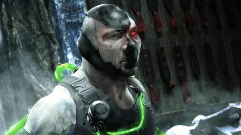 Dave Bautista as Bane fan art