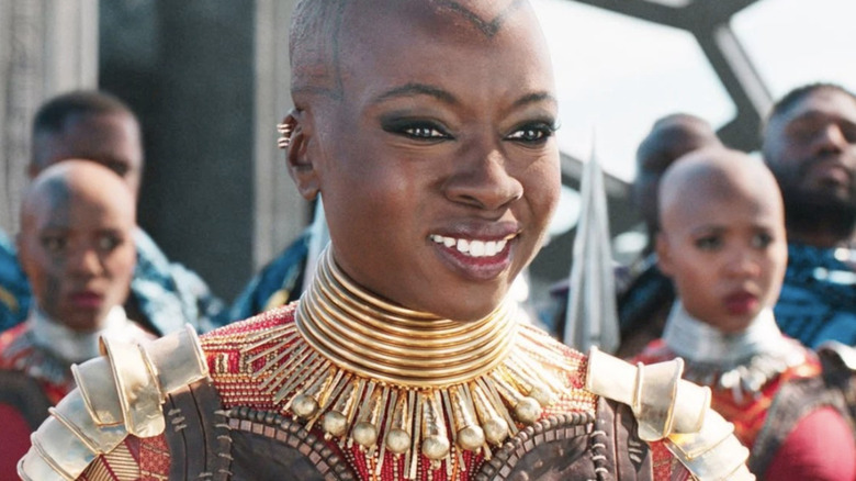 Danai Gurira as Okoye in Black Panther