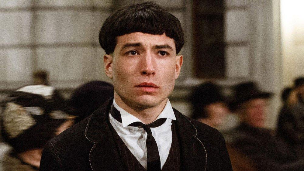 Ezra Miller as Credence Barebone in Fantastic Beasts: The Crimes of Grindelwald