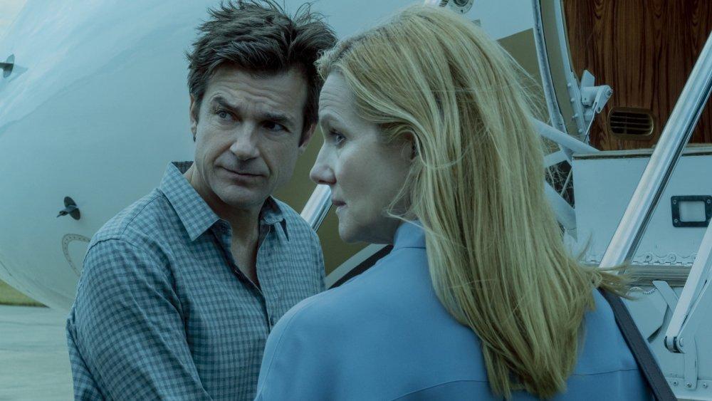 Jason Bateman and Laura Linney on Ozark
