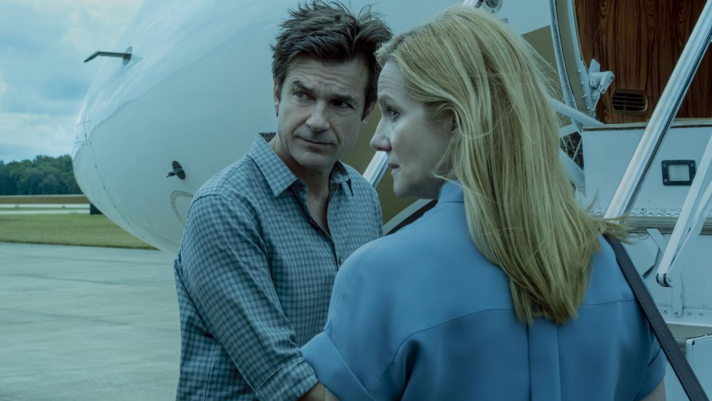Laura Linney and Jason Bateman on Ozark