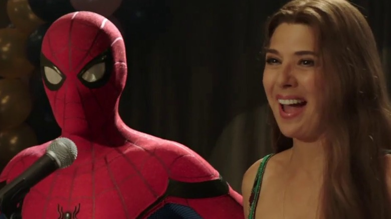 Spider-Man: Far From Home Peter and Aunt May