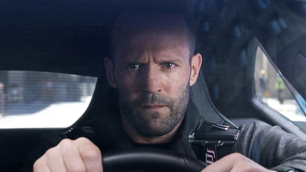 Jason Statham in The Fast and the Furious