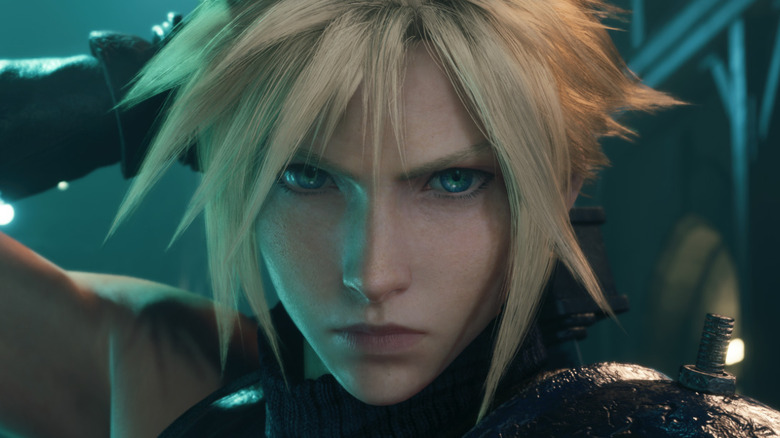 Cloud Strife headshot