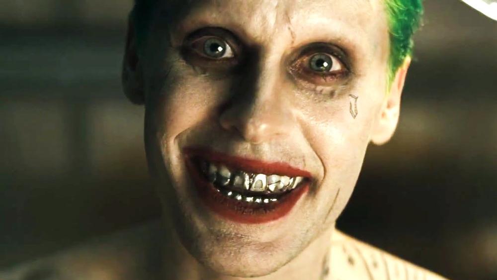 Jared Leto Joker smiling