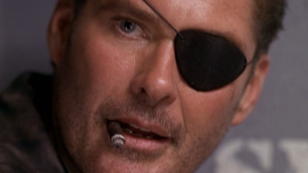 David Hasselhoff as Nick Fury