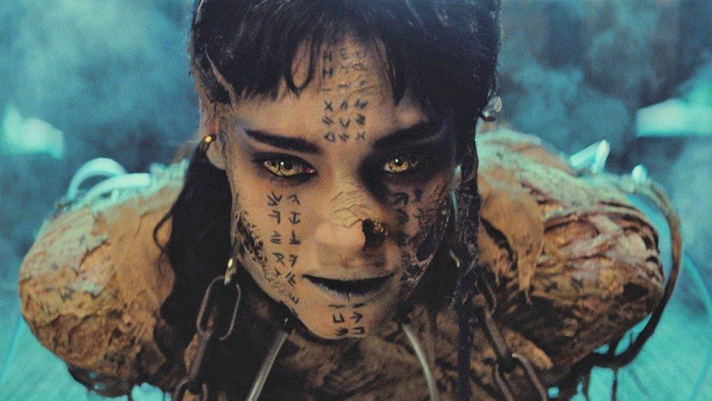 Sofia Boutella in The Mummy