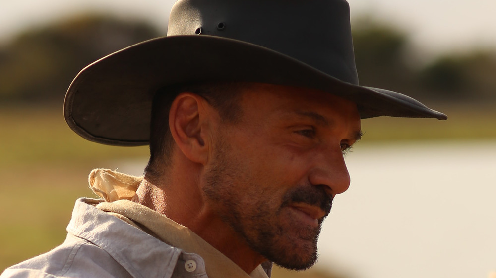 """Frank Grillo as """"Bill Greer"""" in Conor Allyn's NO MAN'S LAND. Courtesy of IFC Films. An IFC Films Release."""