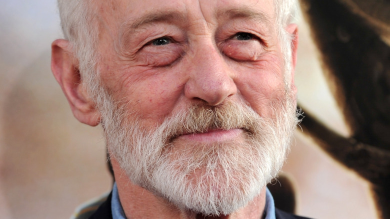 John Mahoney smiling