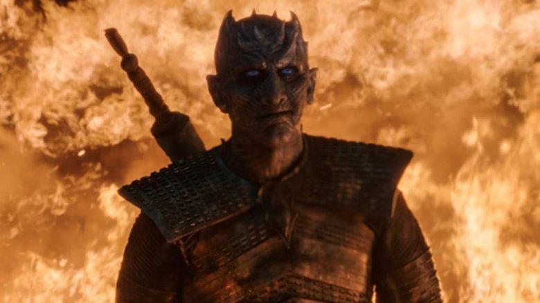 Game of Thrones the Night King season 8 episode 3 Battle of Winterfell