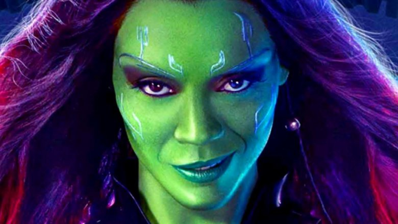Gamora Endgame Guardians of the Galaxy Zoe Saldana