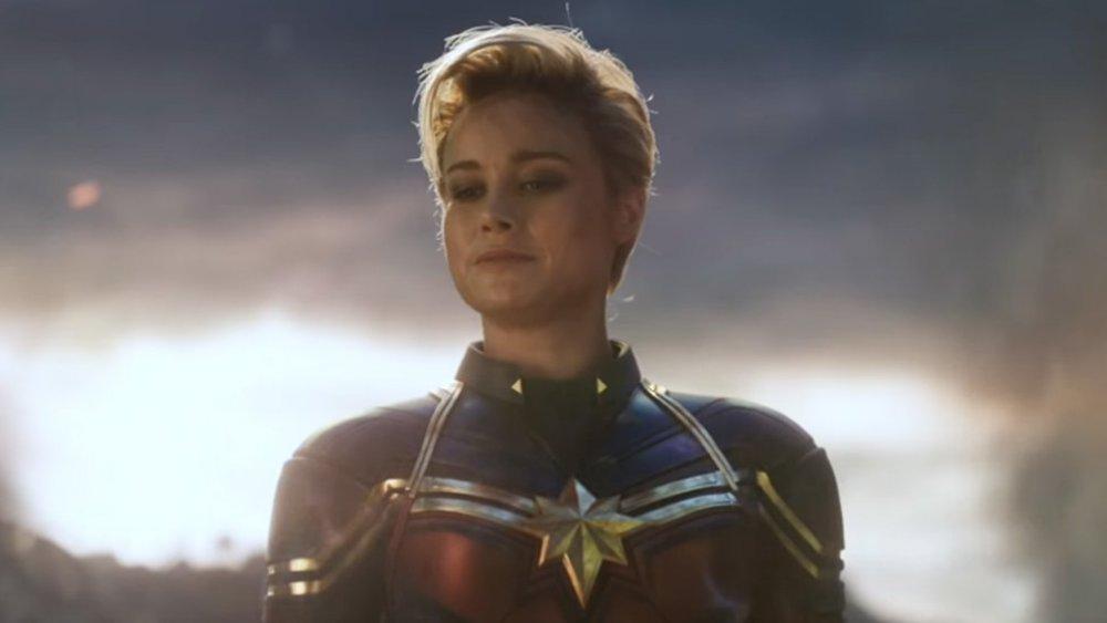 Brie Larson as Carol Danvers aka Captain Marvel in Avengers: Endgame