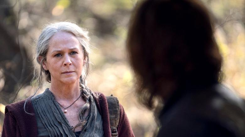 Carol confronts Daryl