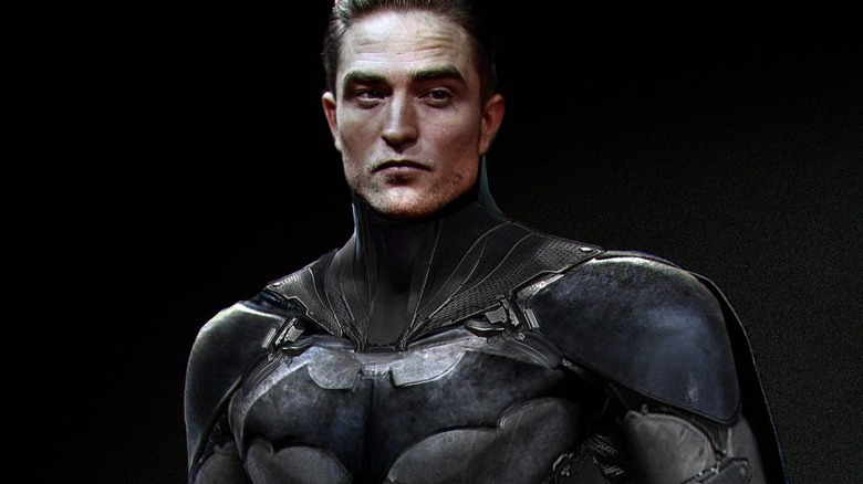 Robert Pattinson as Batman fanart by Jarold Sng