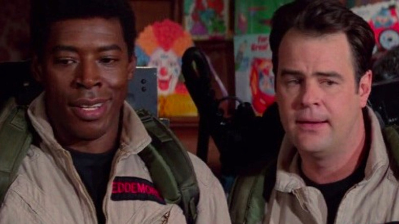 Ghostbusters Dan Akroyd and Ernie Hudson