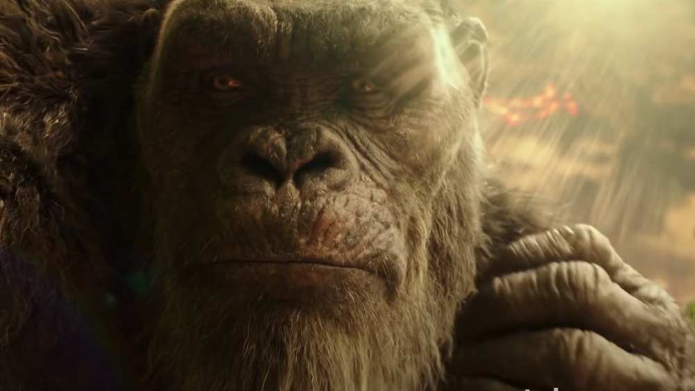 Kong getting emotional