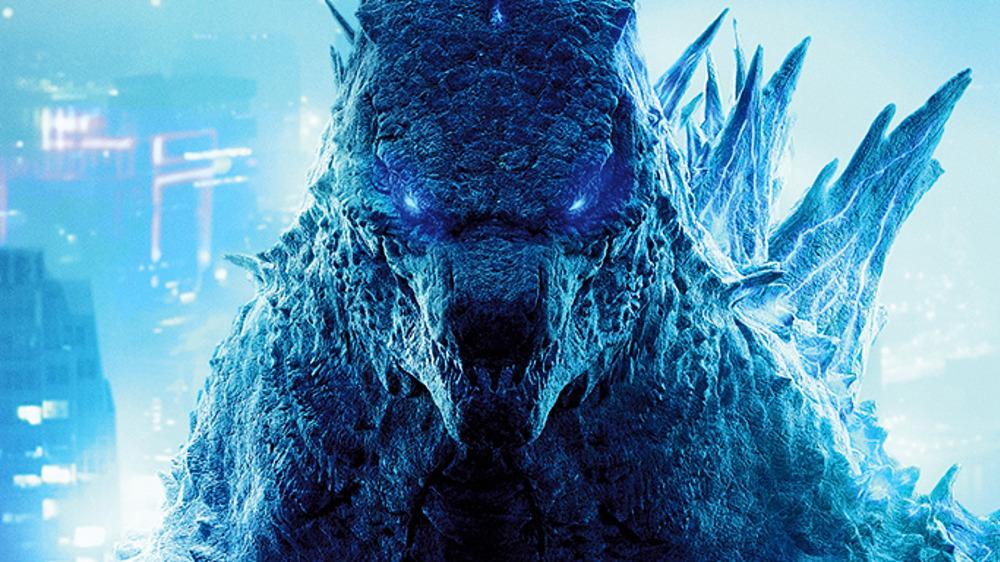 Godzilla blue eyes
