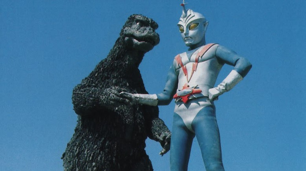 Godzilla and Zone Fighter in Zone Fighter