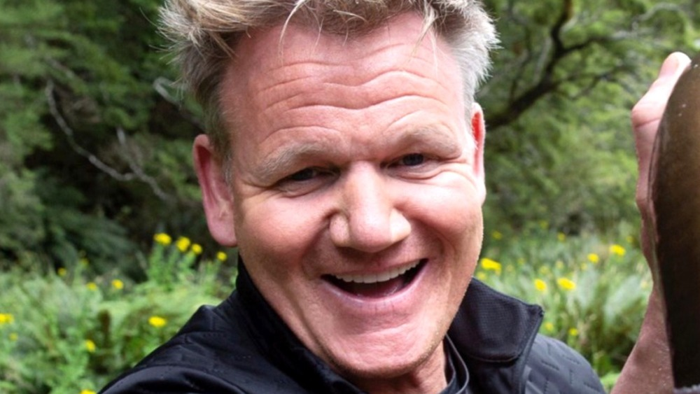 Gordon Ramsay smiling
