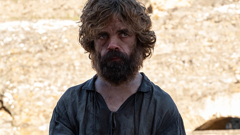 Peter Dinklage as Tyrion Lannister on the Game of Thrones series finale