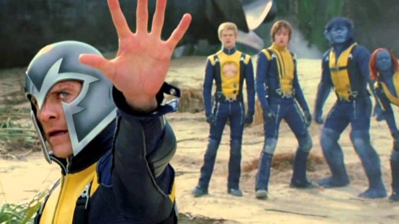 The cast of X-Men: First Class
