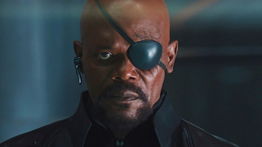 Nick Fury in Marvel series
