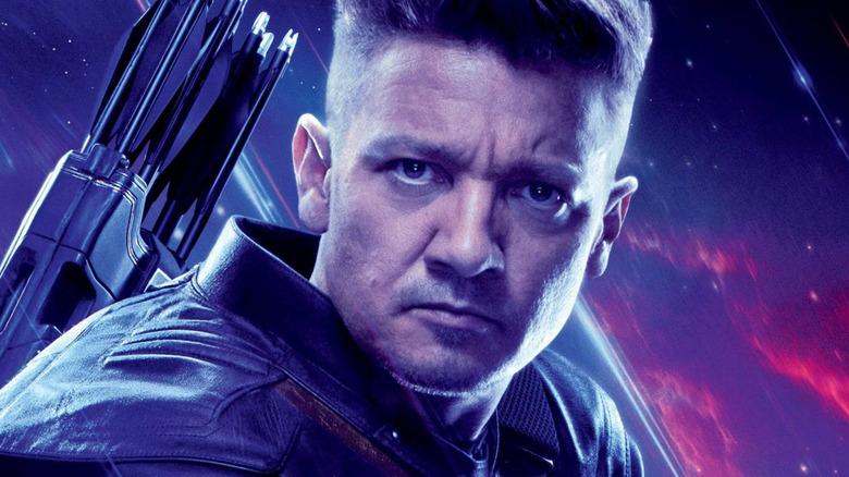 Jeremy Renner Hawkeye Avengers: Endgame poster