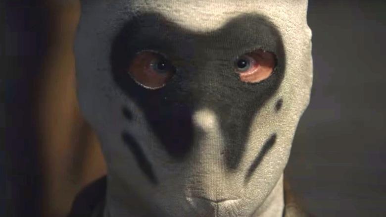 Rorschach mask in HBO's Watchmen