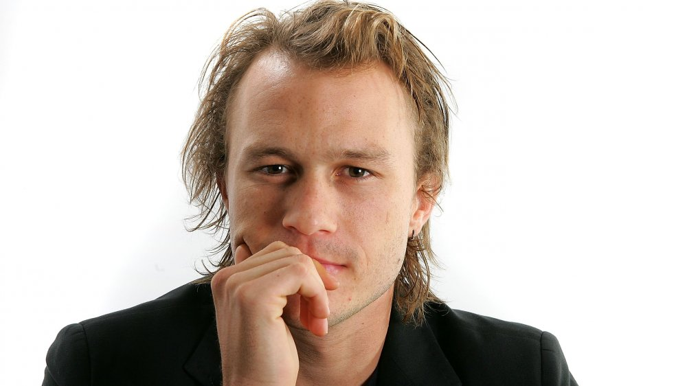 Heath Ledger in a photo shoot before his untimely passing