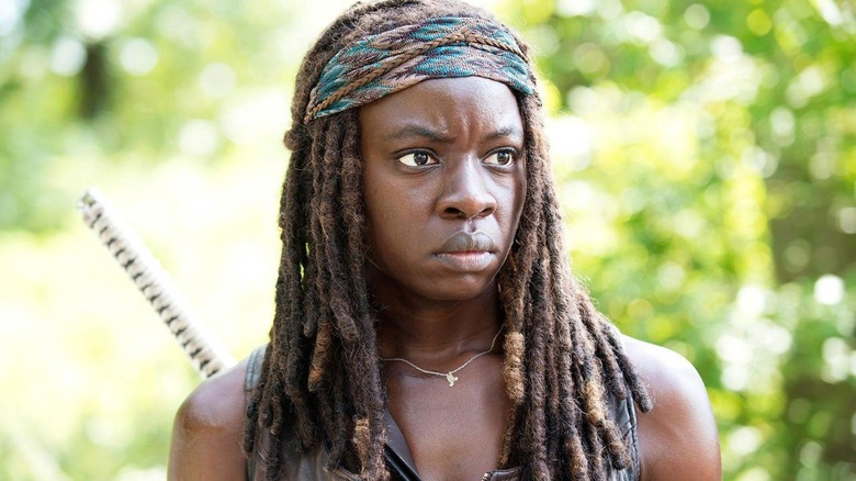 Danai Gurira as Michonne on The Walking Dead