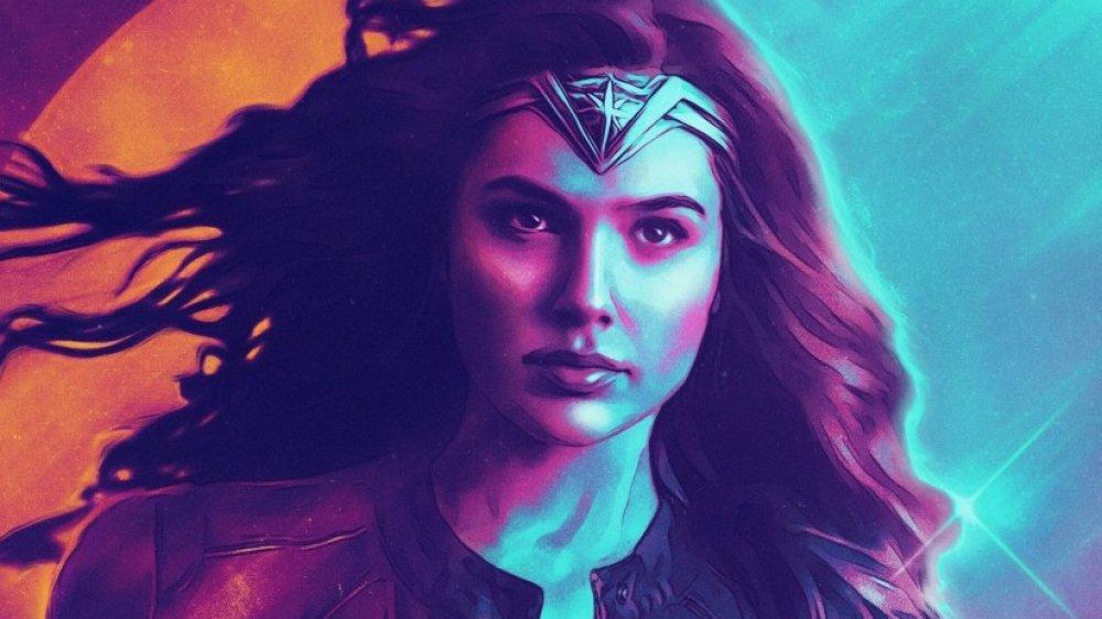 Gal Gadot Wonder Woman 1984 poster fan art