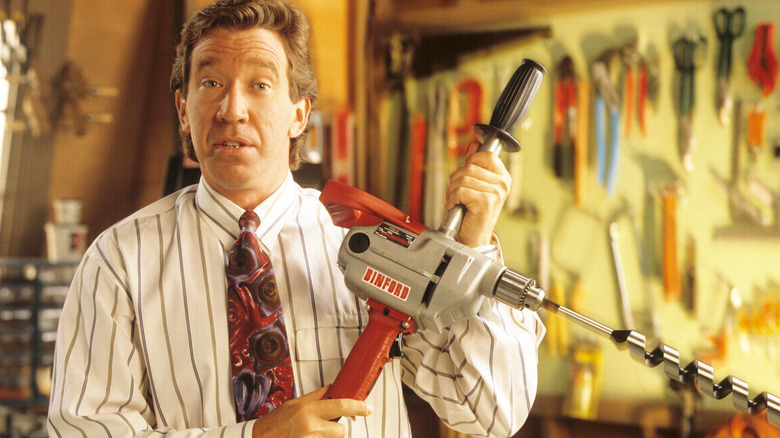 """Tim Allen as Tim """"The Tool Man"""" Taylor on Home Improvement"""