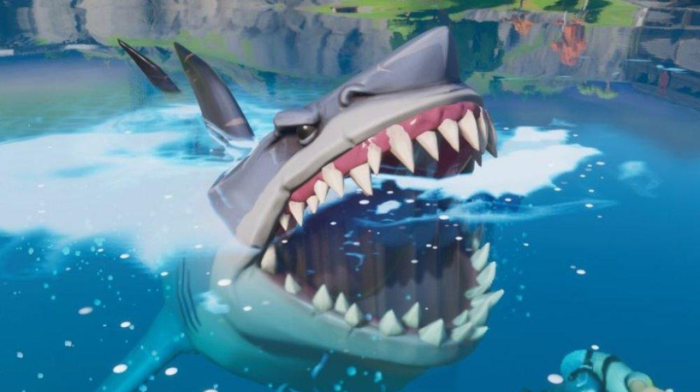 Fortnite loot shark