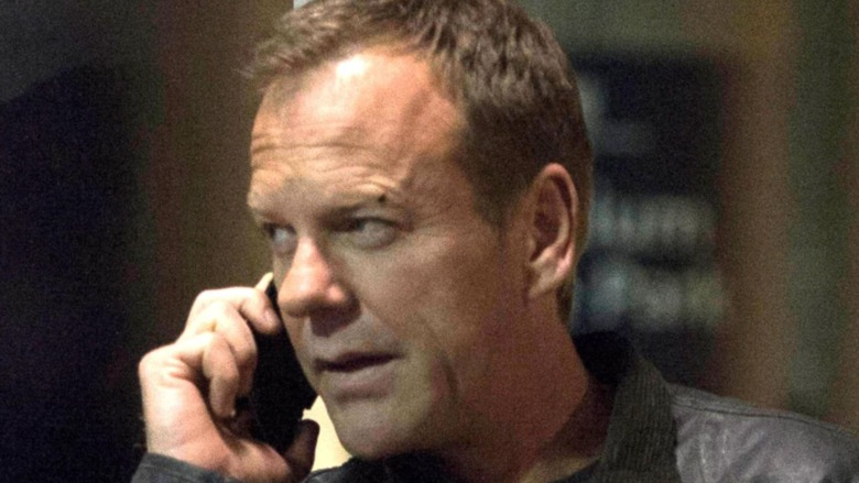 Jack Bauer making a call
