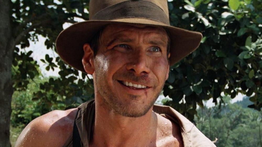 Indiana Jones smiling