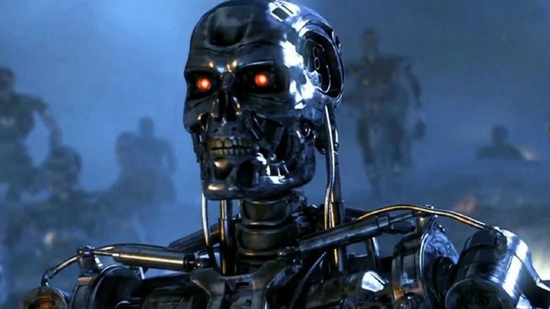 T-800 endoskeleton ready to terminate