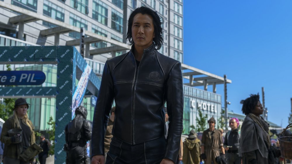 Will Yun Lee as Takeshi Kovacs on Altered Carbon