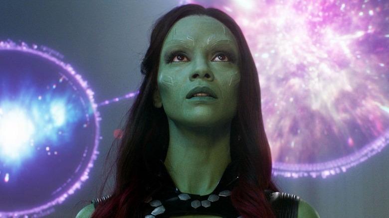 Zoe Saldana in Guardians of the Galaxy Vol. 2