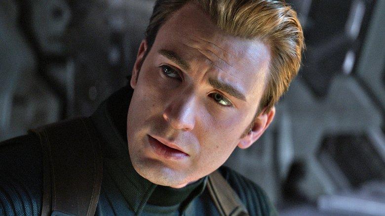 Chris Evans as Captain America in Avengers Endgame