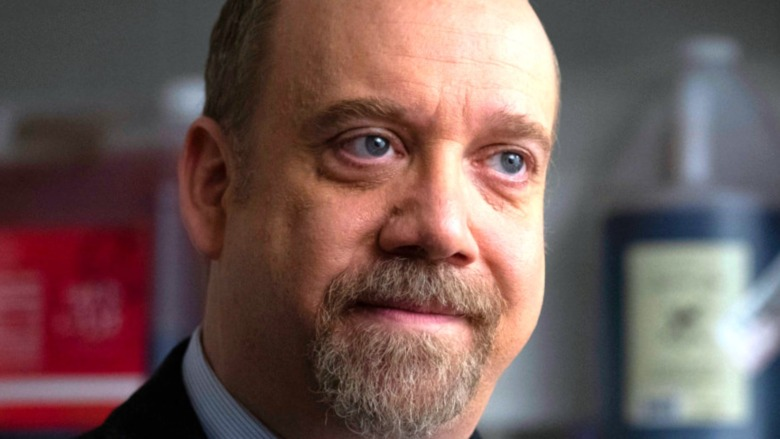 Paul Giamatti looking judgmental