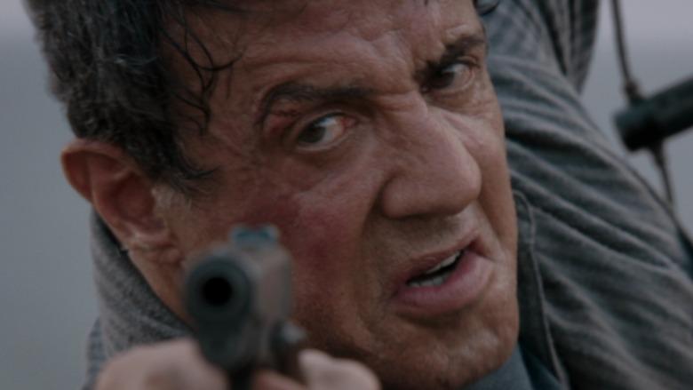 Ray Breslin pointing gun