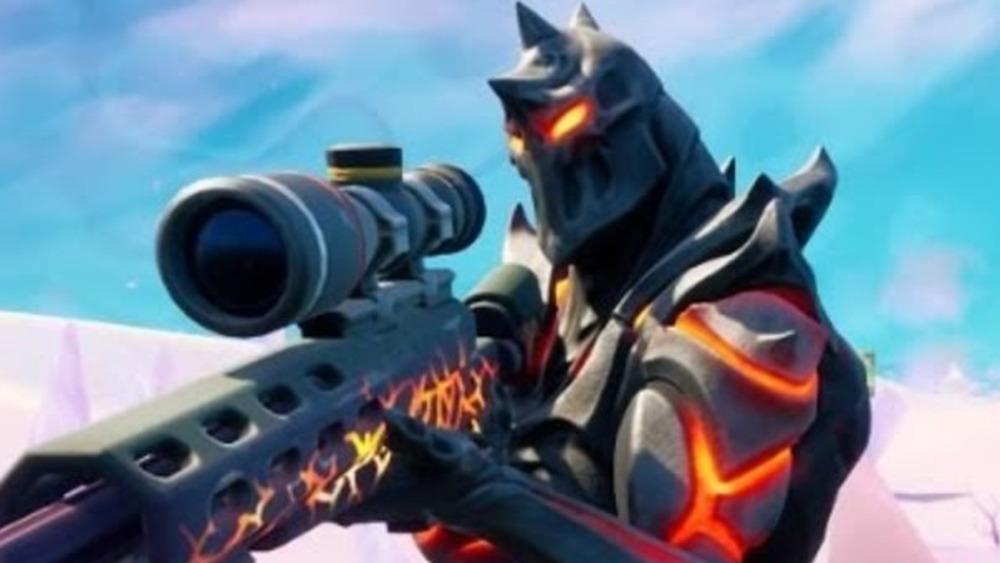 Dragon's Breath sniper rifle from Fortnite