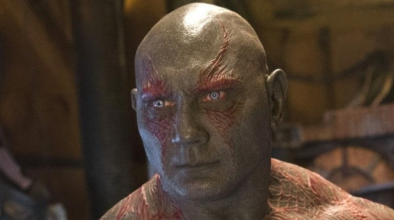 Drax the Destroyer staring