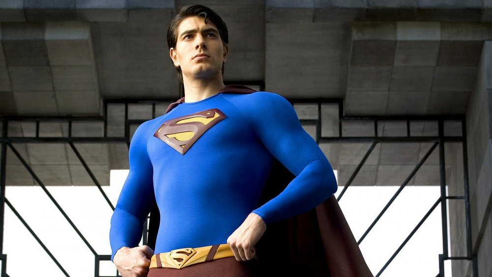 Brandon Routh plays the Man of Steel in Superman Returns