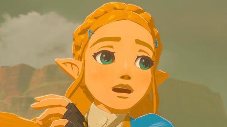 Princess Zelda surprised